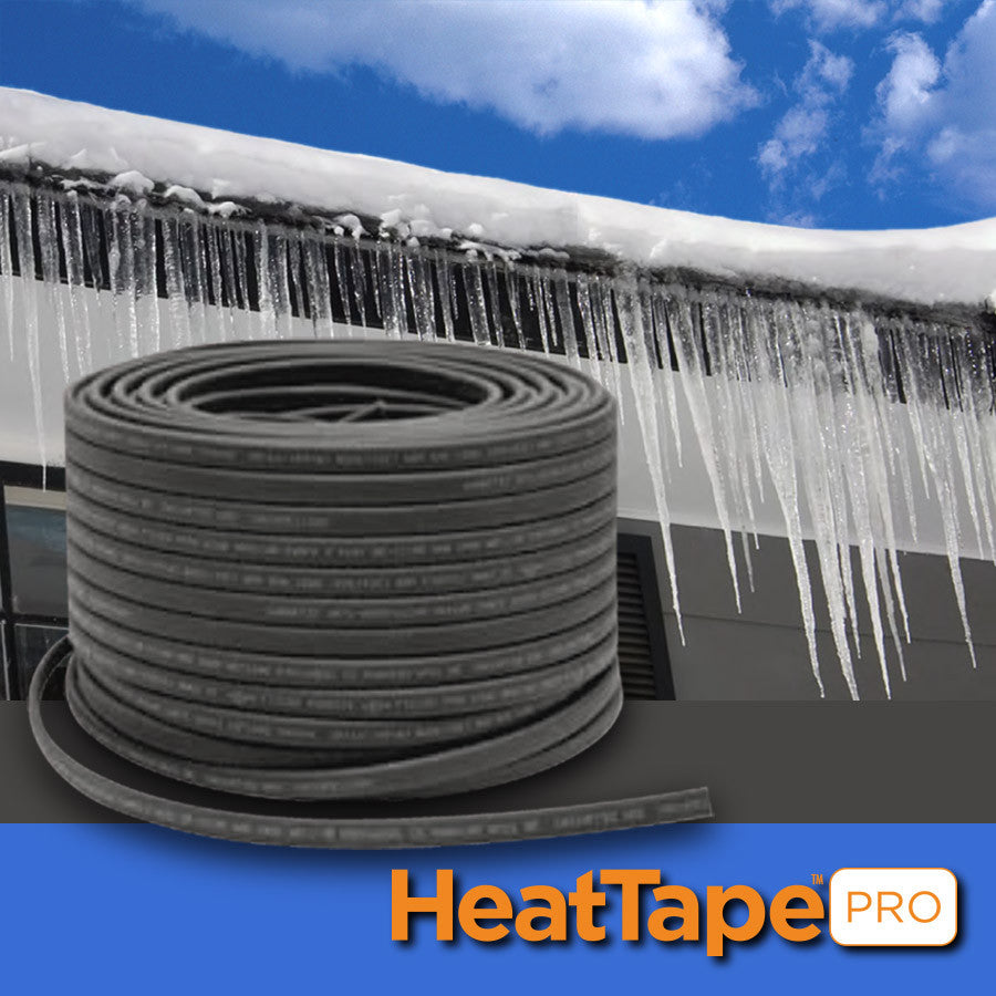 Heat Tape PRO Self-Regulating Heat Cable for Ice Dam Removal