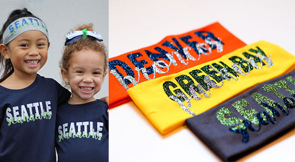Custom Kids Sports Fan Headbands