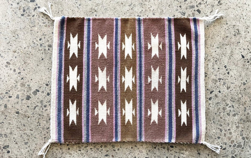 SMALL WOVEN RUG - NAVAJO-children-todler-kids-baby-clothing-shopboygirl