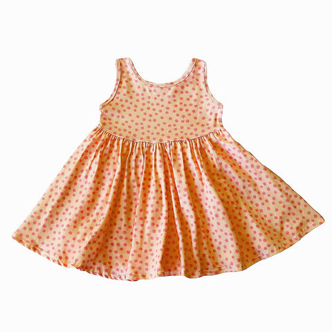 Sherbet Dot Tank Twirly Dress