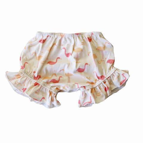 Flamingo Ruffle Bloomers