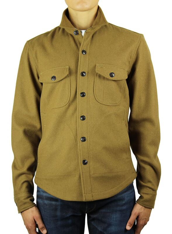 Kato Shirt Jacket Camel