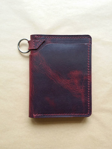 Ashland Leather Biker Wallet
