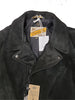 3sixteen X Schott Black Roughout Leather Jacket