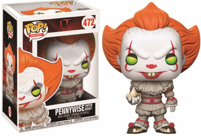 Pop! Movies: IT Pop! Vinyl Figure - Pennywise With Boat