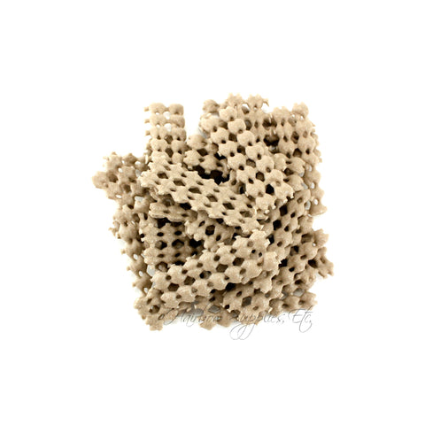 100 beige non slip grips liners for alligator clips and hair bows