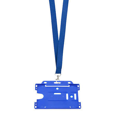 Lanyard & Plastic ID Badge Holder - Promofix Gifts   - 1