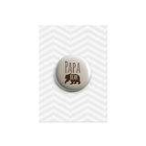 Papa Bear Button Badge 38mm - Promofix Gifts   - 1