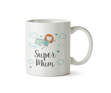 Super Mum Mug - Redhead Version - Promofix Gifts