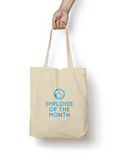 Employee of the Month - Cotton Tote Bag - Promofix Gifts