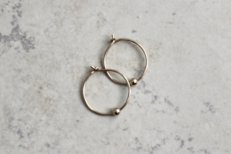 Hoop Earrings - Designed By Lei