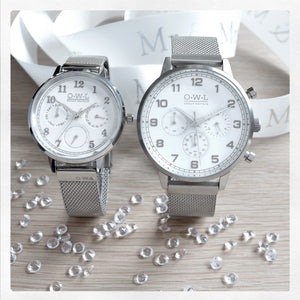 WIN: A Pair of OWL WATCHES (Wedding Stories)
