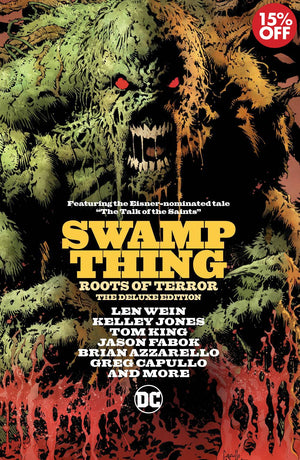 Swamp Thing Roots of Terror Deluxe Ed Hc