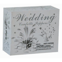 wedding confetti poppers