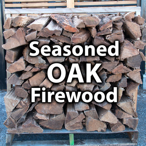 1/2 Seasoned Oak Firewood - 1 Pallet