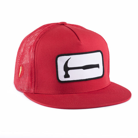 HAMMER MESH HAT Red