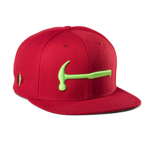 Hammer Hat Red