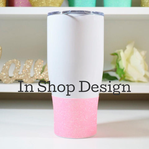 In Shop Design - Stainless Steel Travel Mug