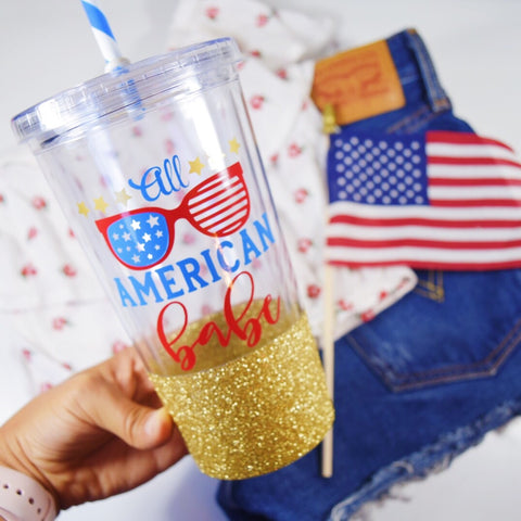 All American Babe - Tumbler