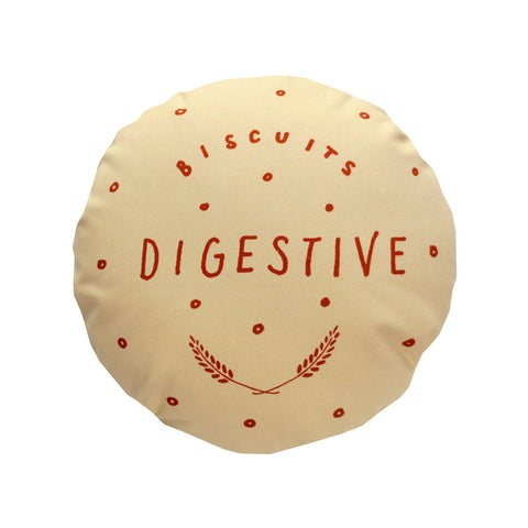 Chocolate Digestive Printed Cushion