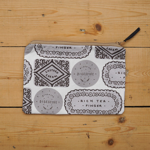 Biscuit Mix Pouch - Monochrome