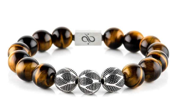 Nascor Tiger Eye (12mm) Silver