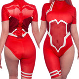 Darling In The Franxx Zero Two Battle Suit Swimsuit MF00071 - SYNDROME - Cute Kawaii Harajuku Street Fashion Store