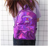 Holographic Strawberry Milk Backpack SD01728