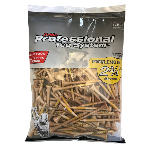 Professional Tee System™ (PTS) Wood Golf Tees