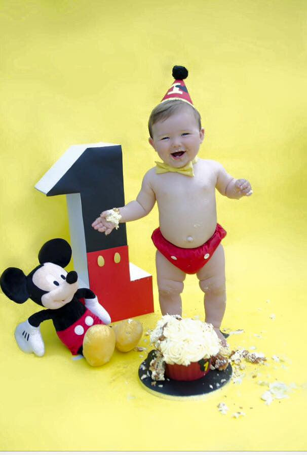 Boys Mickey Mouse Cake Smash Set