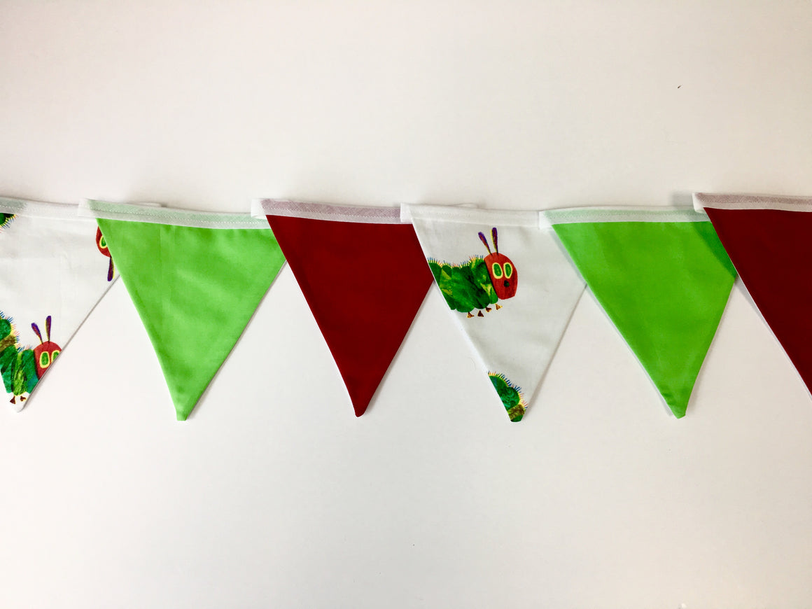 Hungry Caterpillar Bunting - First Birthday Photography - Ready to Post.