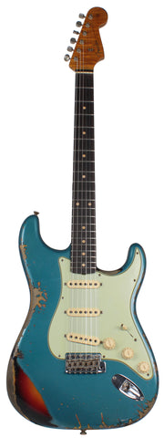 Fender Custom Shop 1961 Stratocaster - Ocean Turquoise Metallic o/ 3TS - Special Run