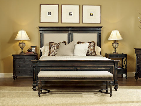 1510 Group CA King Upholstered Platform Bed