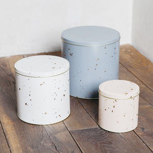 Ferm Living Confetti Tin Boxes Set Of 3