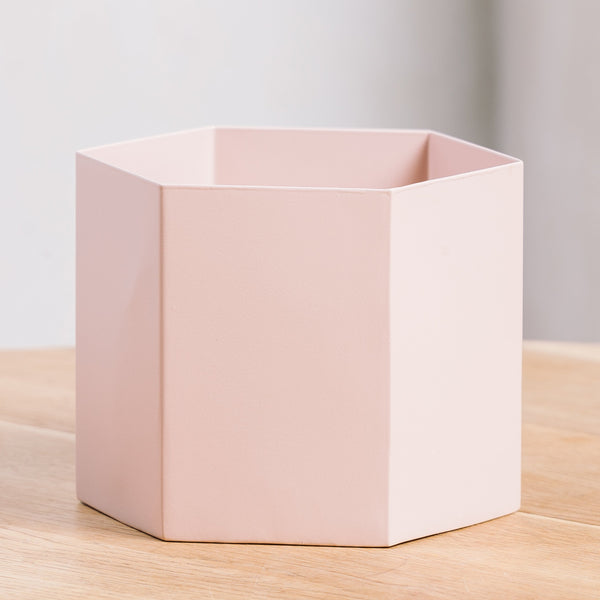 Ferm Living Hexagon Pot Extra Large Rose
