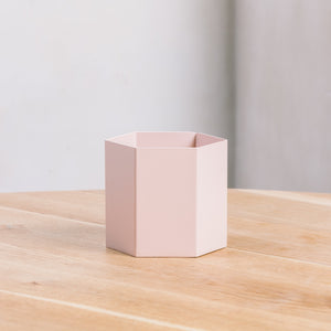 Ferm Living Hexagon Pot Large Rose