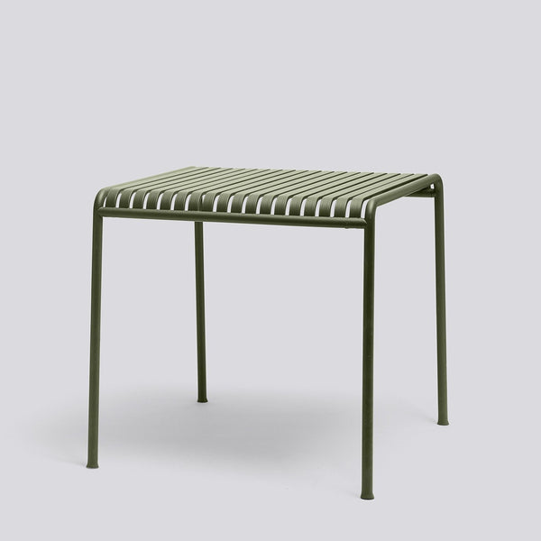 HAY Palissade Table 80X80 Olive