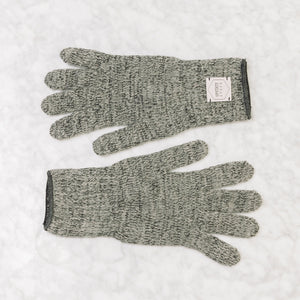 Upstate Stock Ragg Wool Glove Large / Charcoal Melange