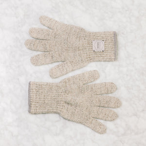 Upstate Stock Ragg Wool Glove Large / Oatmeal Melange