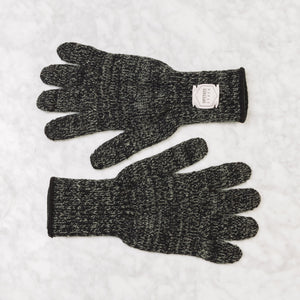 Upstate Stock Ragg Wool Glove Small / Black Melange