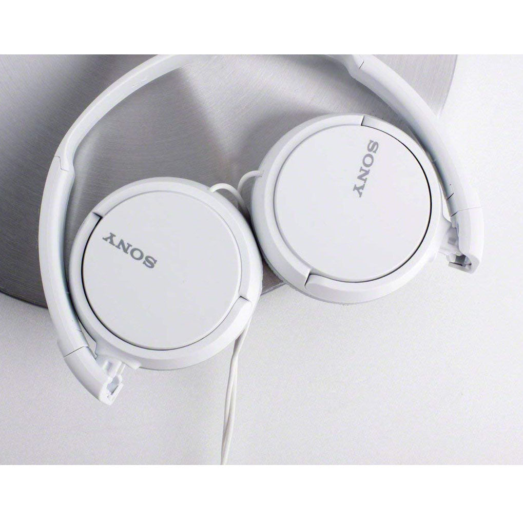 Daily Steals-Sony ZX Series Extra Bass Smartphone Headset with Mic - White-Headphones-