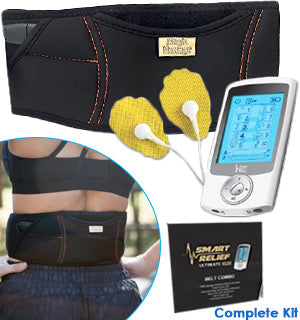 update alt-text with template Daily Steals-Smart Relief TENS Unit Electro-Therapy Massager Belt Combo-Health and Beauty-