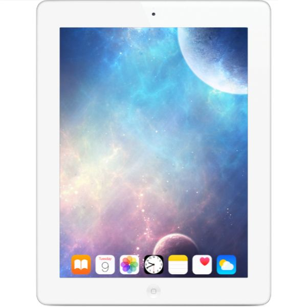 update alt-text with template Daily Steals-Apple iPad 2nd Gen 16GB 9.7 Display WiFi Only Tablet PC White + FREE CaseLogic iPad Case-Tablets-