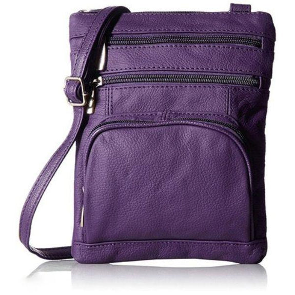 update alt-text with template Daily Steals-Super Soft Leather Plus Size Crossbody Bag-Women's Accessories-Purple-