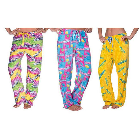Daily Steals-Nestle Plush Lounge Pants (Plus Size Available)-Women's Apparel-Small-Laffy Taffy-