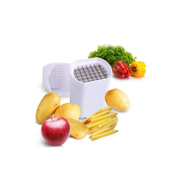 update alt-text with template Daily Steals-Perfect Fries French Fry Cutter- Fruit & Vegetable Cutter-Kitchen-