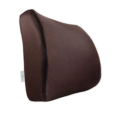 update alt-text with template Daily Steals-PharMeDoc Lumbar Support Pillow - Adjustable Memory Foam Seat Cushion-Fitness and Wellness-Brown-