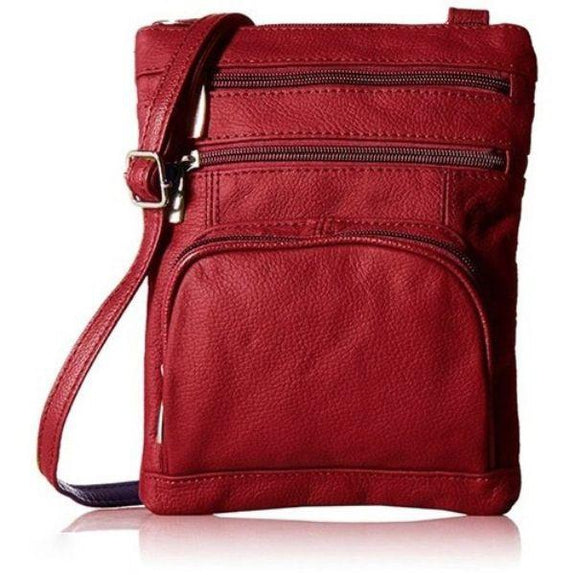 update alt-text with template Daily Steals-Super Soft Leather Plus Size Crossbody Bag-Women's Accessories-Red-