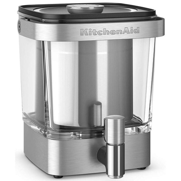update alt-text with template Daily Steals-KitchenAid Cold Brew Coffee Maker 38 Ounce Brushed Stainless Steel-Kitchen-
