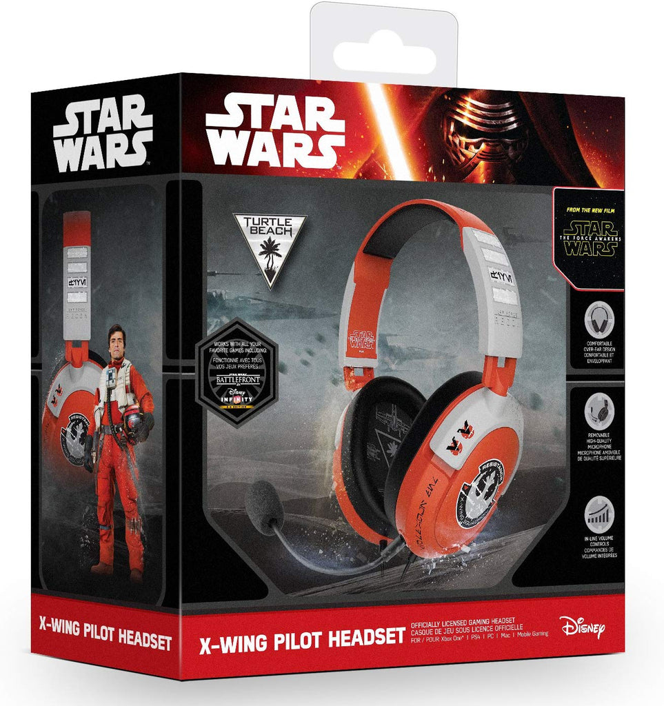 Daily Steals-Turtle Beach - Star Wars X-Wing Pilot Gaming Headset - PS4, Xbox One, PC, Mac, and Mobile-Headphones-